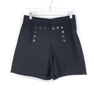 Anthropologie Leifnotes Sz 2 High Rise Short Black